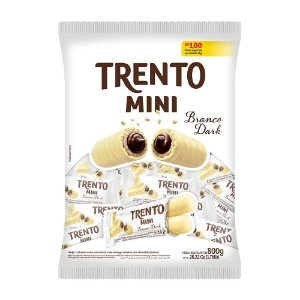 Trento Wafer Mini Branco Dark 800g