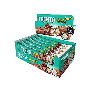 Trento Wafer Massimo Coco Ao Leite Com 16un