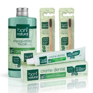 Kit Boni Natural Higiene Bucal