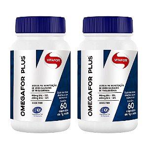 Kit Ômega 3 EPA DHA 1000mg Vitafor