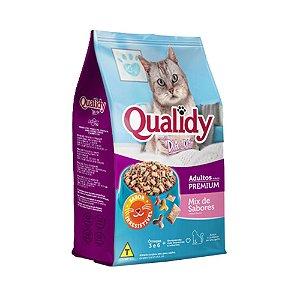 Qualidy Dia a Dia Gato Adulto Mix de Sabores 10,1 kg