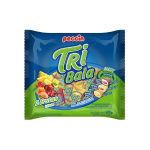 Bala Tribala Frutas Sortidas 500g