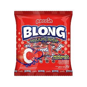 Chiclete Blong Morango 50g