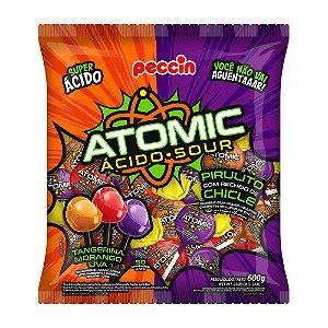 Pirulito Atomic Sortido 600g