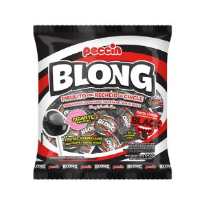 Pirulito Blong Gigante Black 672g/24un