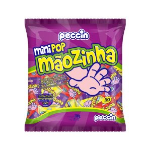 Pirulito Mini Pop Mãozinha 200g/50un