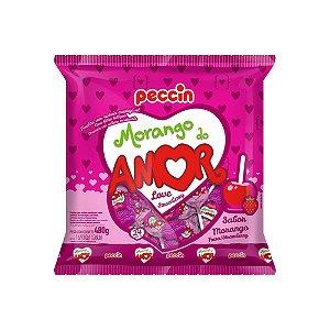 Pirulito Morango do Amor 480g
