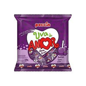 Pirulito Uva do Amor 480g