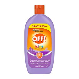 Repelente Off Kids Leve 200ml Pague 117ml