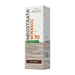 Minesol Neostrata Protetor Solar Oil Control Pele Negra FPS70