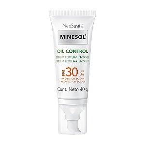 Minesol Neostrata Protetor Solar Oil Control Sérum FPS30 40g