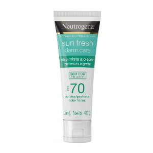 Sun Fresh Derm Care Sem Cor FPS 70 40gr