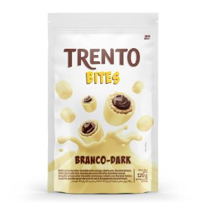 Trento Wafer Bites Branco Dark Stand Up Pouch 120g