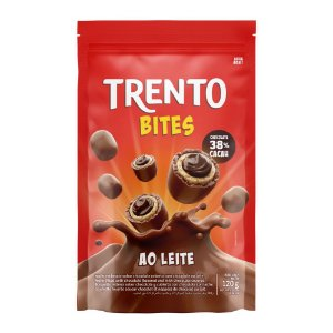 Trento Wafer Bites Ao Leite Stand Up Pouch 120g