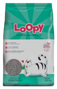 Loopy Granulado Higiênico Ecológico 3kg