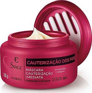 Siàge Máscara Capilar Cauterização Dos Fios 250g