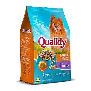 Qualidy Cães Pequeno Porte Sabor Carne 10,1kg