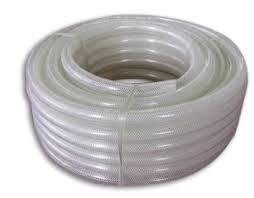 TUBO MANGUEIRA SILICONE ATÓXICO (diametro interno 9,5mm X diametro externo 14,6mm X espessura parede 2,5mm) PREÇO POR METRO LINEAR