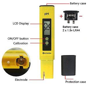 pHmetro DIGITAL MEDIDOR DE pH CALIBRAGEM AUTOMATICA para MOSTO E CERVEJA