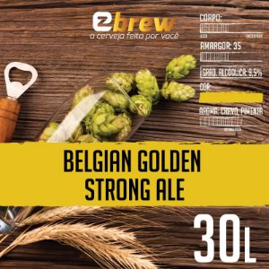 KIT RECEITA BELGIAN GOLDEN STRONG ALE 30 LITROS