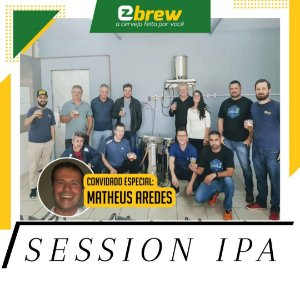 KIT RECEITA SESSION IPA - MATHEUS AREDES BRAU AKADEMIE (Workshop 17/04/2021)