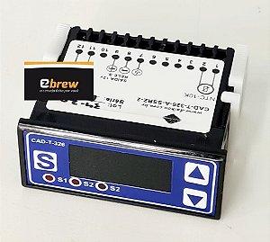 Controlador  CAD -T-326 12 V (BAED) com sensor NTC