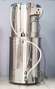 Panela Automatizada 100L Double Vessel EZbrew C100 Inox 201