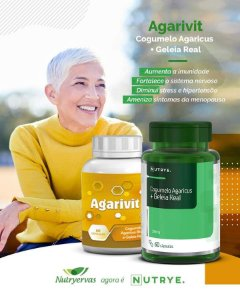 AGARIVIT NUTRYERVAS 60 CÁPSULAS