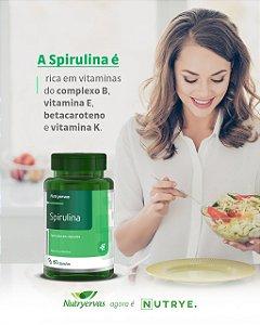 SPIRULINA 60 CAPS NUTRYE