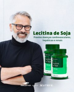 LECITINA DE SOJA 1000MG 60 CAPS