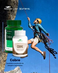 SUPLEMENTO MINERAL DE COBRE 60 CAPS