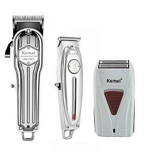 Máquina de Corte All Metal + Acabamento Metal + Shaver White