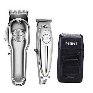 Kemei Km-1987 + Kemei Km-1949 + Kemei km-1102