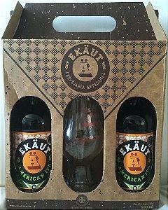 Kit Cerveja Ekäut - 2 American IPA + 1 Copo IPA