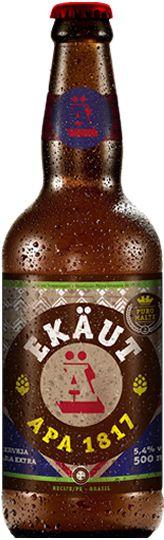 Cerveja Ekäut APA 1817 - 500ml