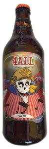 Cerveja PattLou 4All American Wheat - 600ml