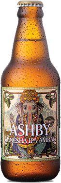 Cerveja Ashby Ganesha IPA Âmbar - 300ml