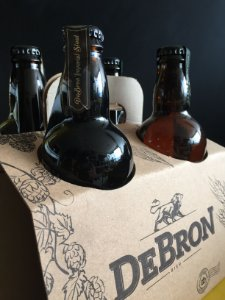 Kit DeBron - 4 cervejas DeBron Imperial Stout - 500ml