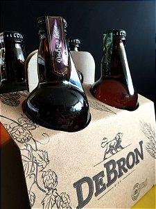 Kit DeBron - 4 cervejas DeBron Lager - 500ml