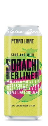 Cerveja Perro Libre Sorachi Berliner - 473ml