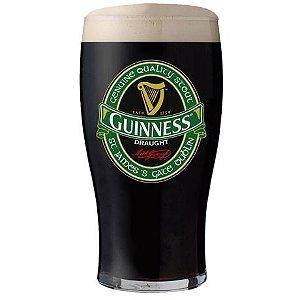 Copo cerveja Guinness Draught Vintage verde - 450ml
