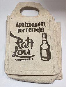 Ecobag cervejaria PattLou - Apaixonados por Cerveja