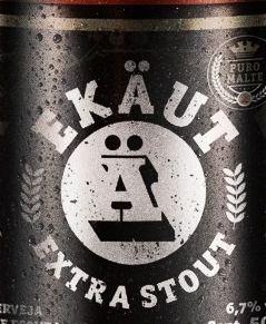 Cerveja Ekäut Extra Stout - 500ml