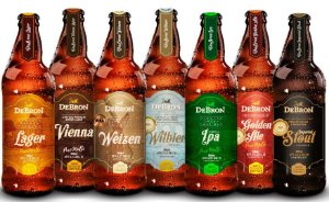 Box DeBron 7 estilos - Lager, Vienna, Golden Ale, Weizen, Witbier, IPA e Imperial Stout - 500ml