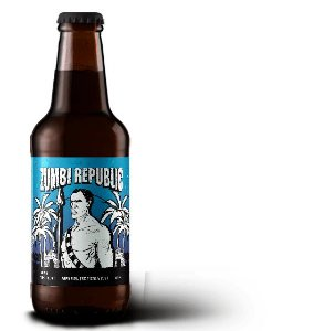 Cerveja Caatinga Rocks Zumbi Republic Imperial Tropical Stout - 300ml