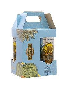 Kit Cerveja Babylon Edição Especial 4 Latas - 473ml