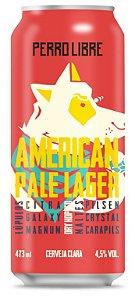 Cerveja Perro Libre American Pale Lager - 473ml