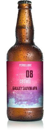 Cerveja Perro Libre Galaxy Sauvin APA - 500ml