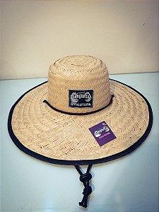 Chapéu de palha cervejaria Manguezal