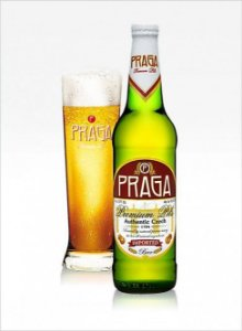 Kit Cerveja Praga Premium Pils e Copo Praga Pils